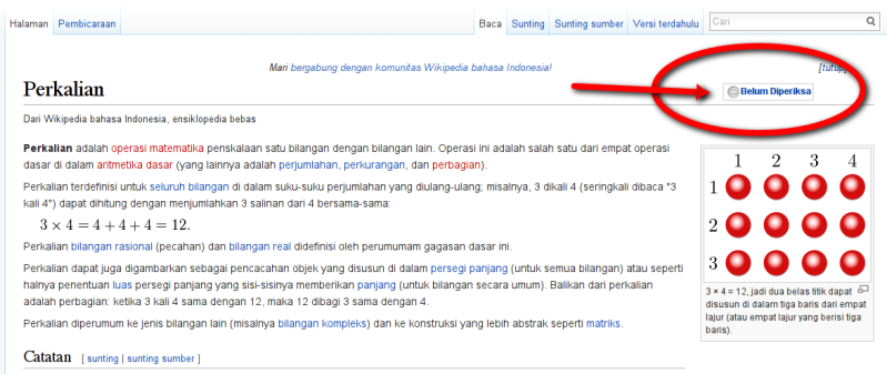 Perkalian - Wikipedia bahasa Indonesia, ensiklopedia bebas