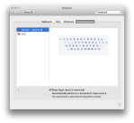 Mac OS X keyboard input source preferences