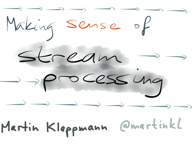 Title: making sense of stream processing